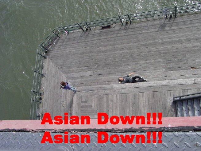 Asian is down!